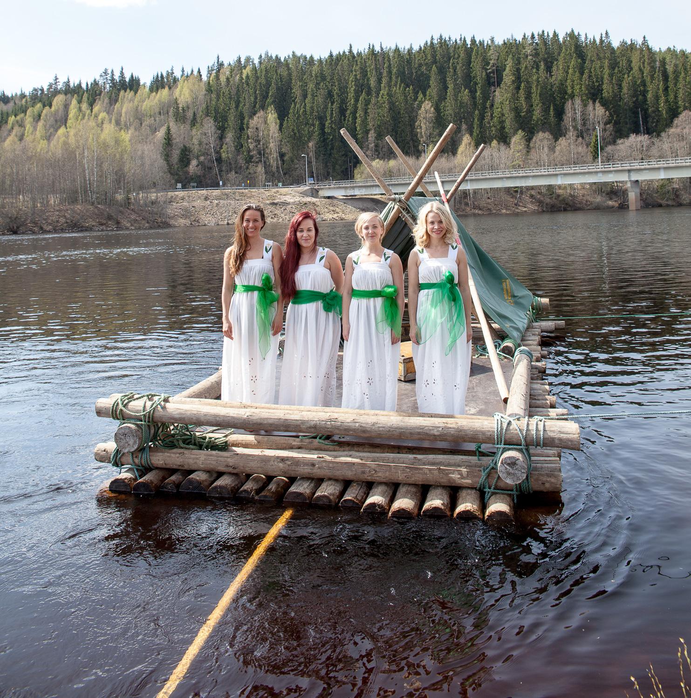 Turist i Värmland fotografering - Vildmark i Värmland
