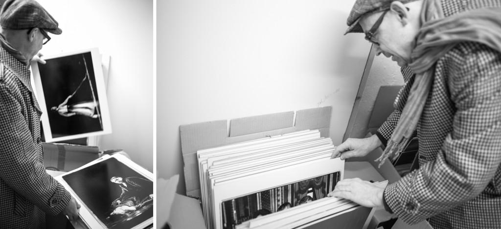 En tur till arkivet med Mats Bäcker. Bläddra i arkivet