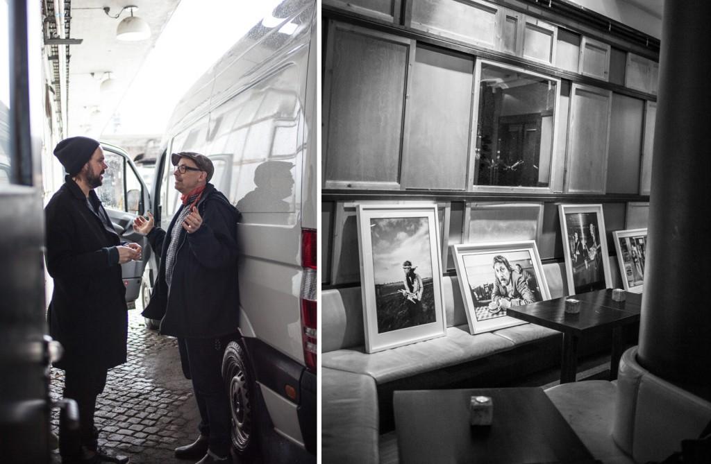 Mats Bäcker har fotoutställning på Vassa Eggen. Transport