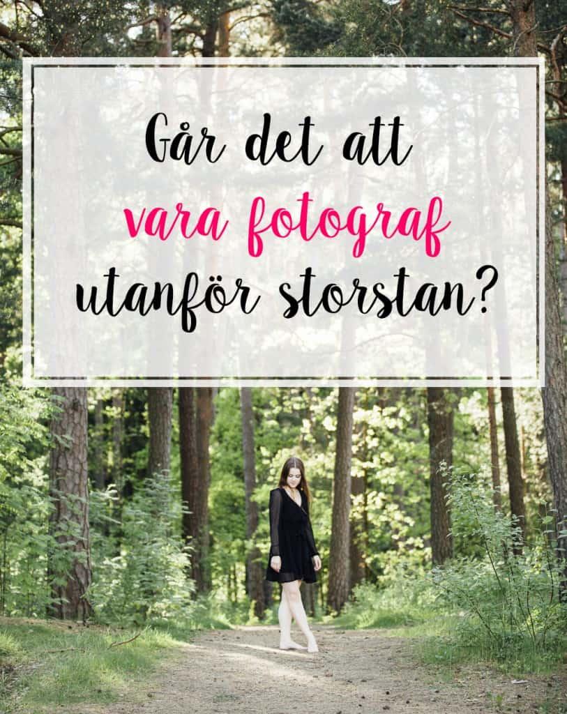 Om att vara fotograf i Karlstad